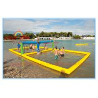 Wholesale Commercial Grade Inflatable Water Volleyball Court for Water Park from china suppliers