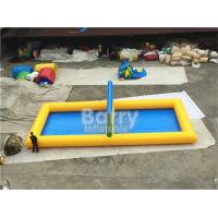Wholesale Outdoor Inflatable Sports Games PVC Inflatable Water Volleyball Court from china suppliers
