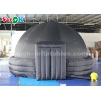 Quality 4m 100% Blackout Inflatable Planetarium Dome With PVC Floor Mat For School for sale
