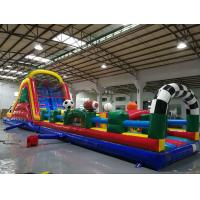 Wholesale Huge Interactive Challenge Blow Up Obstacle Course Bounce House Aqua Park from china suppliers