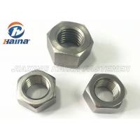 China Fastener Products Stainless Steel Nuts M6 Hexagon Head With Metric Screw Threads on sale