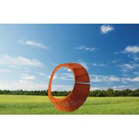 Buy cheap Creative Round Shape Design Corten Steel Sculpture As Exterior Decoration from wholesalers