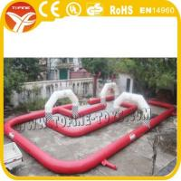 Buy cheap inflatable race track/ inflatable runway/ inflatable race car track for kids from wholesalers
