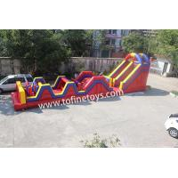 Buy cheap inflatable obstacle course equipment,inflatable obstacle course for sale from wholesalers