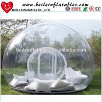 Wholesale Inflatable Transparent Tent and Clear Bubble Tent with sofa or pillow For Sale from china suppliers