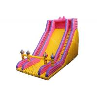 China Water Resistant PVC Large Inflatable Slide 13x7x10m For Children on sale