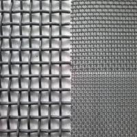 Wholesale Metal Crimped Woven Wire Mesh Customized For Vibrating Stone / Gold Ore / Coal Mine from china suppliers