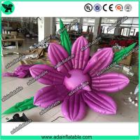 Club Event Decoration Inflatable,Club Party Decoration, Inflatable Purple Flower