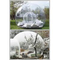 Wholesale nflatable Clear Dome Tent, Inflatable Transparent Tent, Inflatable Lawn Tent from china suppliers