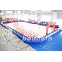 Wholesale Bubble Football Arena / Sport Arena For Inflatable Bumper Ball from china suppliers