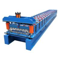 Wholesale Galvanized Construction Materials Roof Panel Forming Machine CE ISO9001 Listed from china suppliers