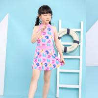 Wholesale Sunny Girls Swim Suit Two Pieces Shirt Girl Push Up Swimsuit For Children Swimsuit Dress from china suppliers