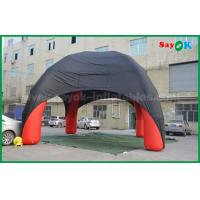 Wholesale Red / Black Spider Inflatable Dome Tent 4 Legs With Oxford Cloth Fire Retardant from china suppliers