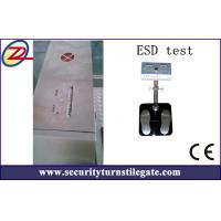China Automatic ESD Turnstile Security Products with RS485 , TCP / IP Interface on sale