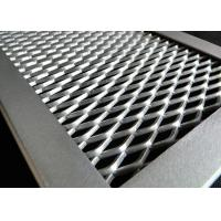 China Corrosion Resistance Aluminum Expanded Metal Mesh Sheet 2-50mm SWD on sale