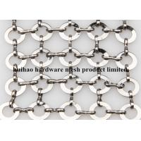 Wholesale Stainless Steel Chainmail Ring Decorative Wire Mesh for Fly Screen Curtain from china suppliers