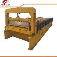 Wholesale Roofing Plate Trapezoidal Sheet Roll Forming Machine 5.5kw Power Custom Colors from china suppliers