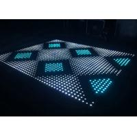Wholesale Digital LED Dance Floor 400Hz Refresh Rate Tempered Glass Cover Material from china suppliers