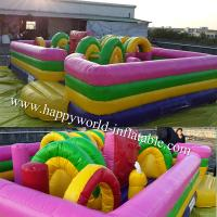 Quality inflatable indoor playground , kids obstacle course equipment , inflatable for sale