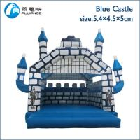 Wholesale Blue Castle Inflatable Bounce House Customized Size 3 Years Warranty from china suppliers