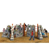 Wholesale Outdoor Kids Climbing Wall Color Optional With Anti Theft Screws from china suppliers