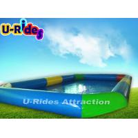 Buy cheap Large Outdoor Inflatable Swimming Pools Hot Welded 10m x 6m x 0.65m from wholesalers