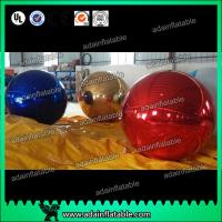 Wholesale 1m Inflatable Mirror Ball With Reflection Effect For Wedding Decoration from china suppliers