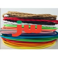 Wholesale Nylon Braided Electrical Cable For Lighting Application H03VV-F Lamp Cloth Covered Cable from china suppliers