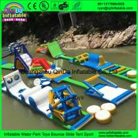 China Sea Inflatable water gmae slides inflatable water park for sale Giant water game on sale