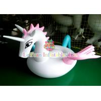 Pegasus Lounger Inflatable Pool Floats , Funny Inflatable Water Park Games