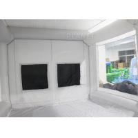 Quality Durable Inflatable Spray Booth Reinforced Oxford Cloth Material CE / UL for sale