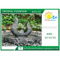 Buy cheap Customized Cast Stone Outdoor Fountains Sculpture Hand Carved Technique from wholesalers