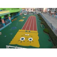 Wholesale Fantastic High Density Artificial Grass Landscaping , Coloured Artificial Turf PE Material from china suppliers