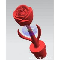 China LLDPE Plastic Rotational Moulding For LED Light Rose Flower Light Structure on sale