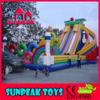 Wholesale PG-046 Kids Playround Inflatables Adult Size Playground from china suppliers