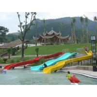 Wholesale Spiral Kids Water Slides Pool from china suppliers