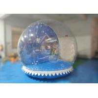 Quality PVC Inflatable Snow Globe Yard Decoration For Advertising 3 Years Warranty for sale