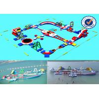 Wholesale 2000M2 Water Area Inflatable Water Parks , Amusement Sea Water Sport Games from china suppliers