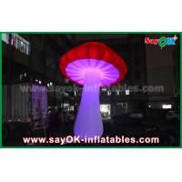 Wholesale Giant Red Yellow Purple Inflatable Lighting Decoration / Inflatable Mushroom from china suppliers