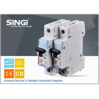 Wholesale Breaking capacity reach to 10000 C25 1p waterproof miniature circuit breaker (mcb) from china suppliers