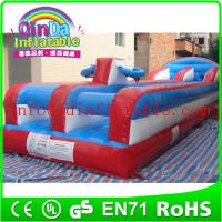 Wholesale 2015 inflatable sport games inflatable bungee run for sport games bungee run for sale from china suppliers