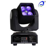 Quality 4 Pcs 15W 4 In 1 Osram LED Moving Head Zoom LED Disco Light DMX512 AC100 - 240V for sale