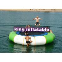 Wholesale 3m D Aquatic Inflatable Trampoline PVC Water Toy Without Steel Spring For Water Park from china suppliers