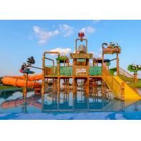 Wholesale Summer Outdoor Water Slide Construction Aqua Park Water House Design Build from china suppliers