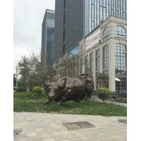 Wholesale Giant Bronze Bull Statue Bronze Casters Outdoor Lawn Decoration Creative Shape from china suppliers
