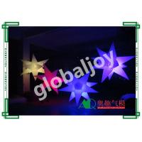 Buy cheap 16 colors inflatable star with RGB led light / Party ceiling decoration / from wholesalers