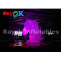 Wholesale Giant Blow Up Lighting Unicorn Cartoon Characters For Advertisement SGS UL from china suppliers