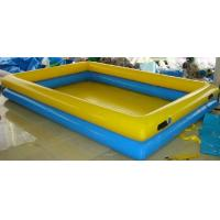 Wholesale Double Layers Inflatable Water Pool 15*10m Blow Up Swimming Pools For Adults from china suppliers