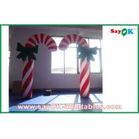 Wholesale H2.5m Inflatable Lighting Decoration Candy Cane Christmas Lights from china suppliers