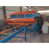 Wholesale PLC control Reinforced Mesh Welding Machine With 30 - 50 Times/Min Welding Speed from china suppliers